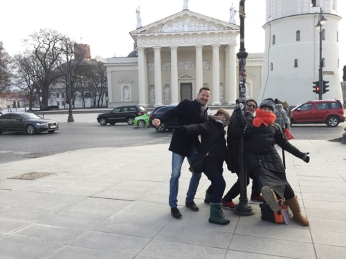 THE POWER OF PLAY!  IDEAS FOR TEAM BUILDING IN VILNIUS