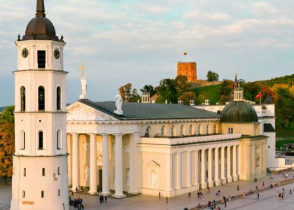 Arrival to Vilnius, Lithuania