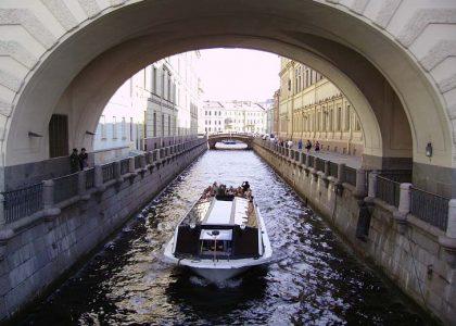 Departure from St. Petersburg
